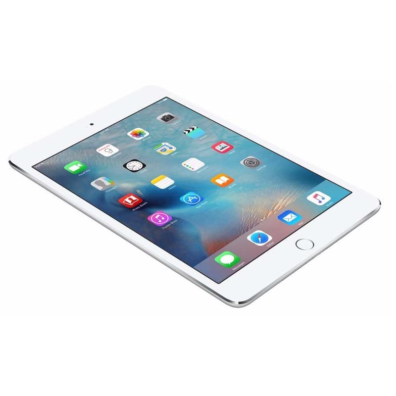 Apple iPad Mini 4 com Touch ID, 16GB de Memória, Câmera iSight de 8MP, Wi-Fi, Tela Retina de 7,9'' - MK6K2 - Prateado / Branco *