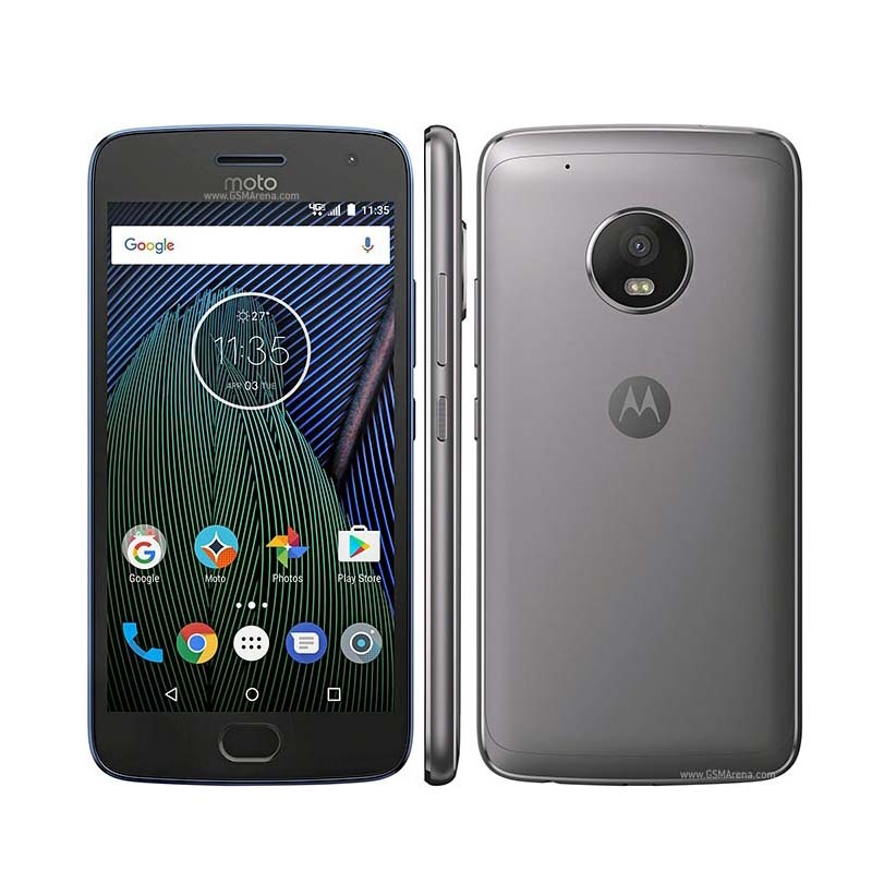Smartphone Motorola Moto G5 Plus de 32GB, Sensor ID, Câmera 12MP, Octa Core, TV integrada, Tela Full HD 5.2