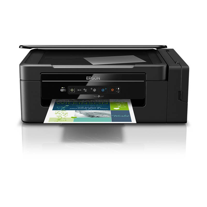 Impressora Multifuncional Ecotank Epson, Tanque de Tinta, Wireless - L395