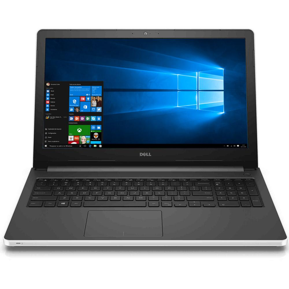"Notebook Dell Inspiron - Intel® Core i3, 4GB de memória, 1TB de HD, Gravador de DVD, HDMI, Bluetooth, Tela HD de 15.6"" Windows 10 -  i15-5558 *"