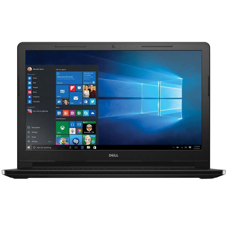 "Notebook Dell Inspiron 3552 - Intel Quad Core, 4GB de Memória, HD de 500GB, Teclado Numérico, HDMI, Tela de 15.6"" e Windows 10 - i3552-3240"