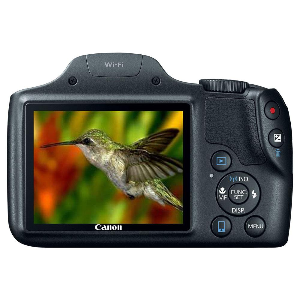 "Câmera Digital Canon Powershot SX530HS + Cartão 8GB, 16.1 Megapixels, Zoom Óptico de 50x,  Wi-Fi, NFC , 3.0"" *"
