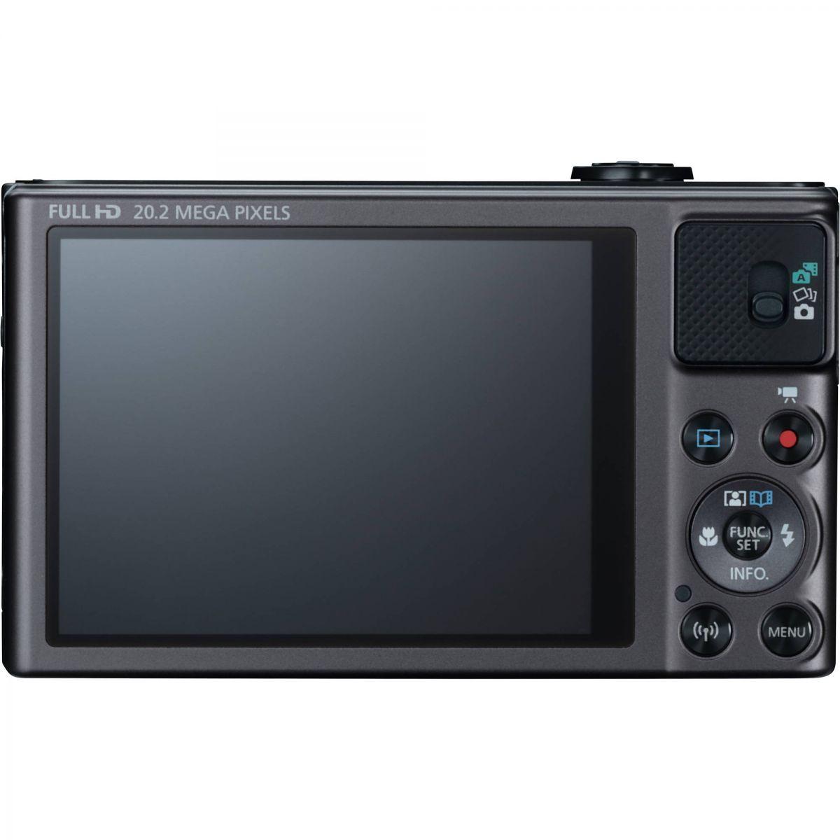 Câmera Digital Canon SX-620HS com 20.2 Megapixels e Processador DIGIC 4,  Zoom de 25x , WI-FI, NFC, 3