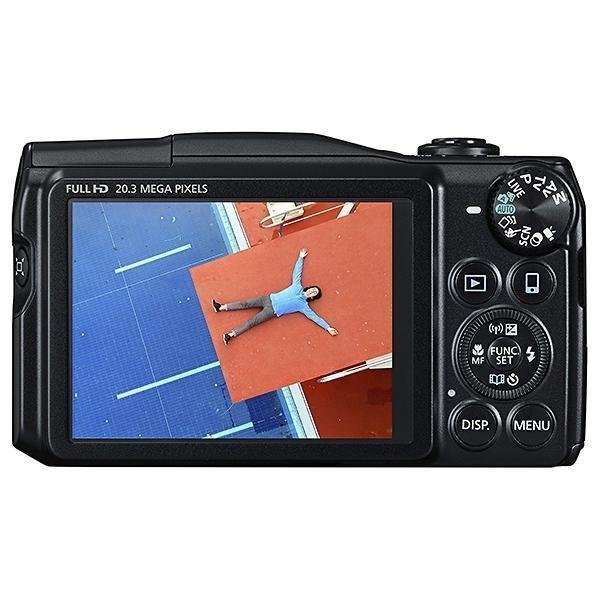 Câmera Dígital Canon Powershot SX710 HS, 20.3 Megapixels, Zoom Óptico de 30x, Processador DIGIC 4+ com Tecnologia iSAPS,  Wi-Fi, NFC *