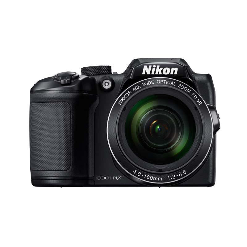 Camêra Digital Nikon Coolpix B500, com 16 Megapixels e Zoom Ótico 40x, LCD inclinável, Wifi, Bluetooth *
