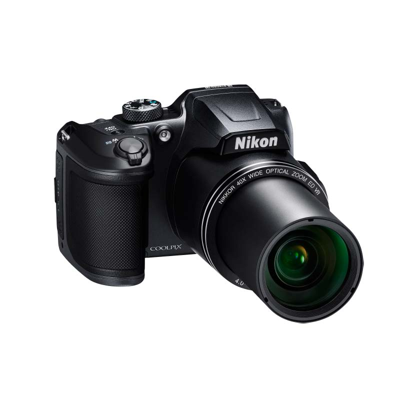Camêra Digital Nikon Coolpix B500, com 16 Megapixels e Zoom Ótico 40x, LCD inclinável, Wifi, Bluetooth *