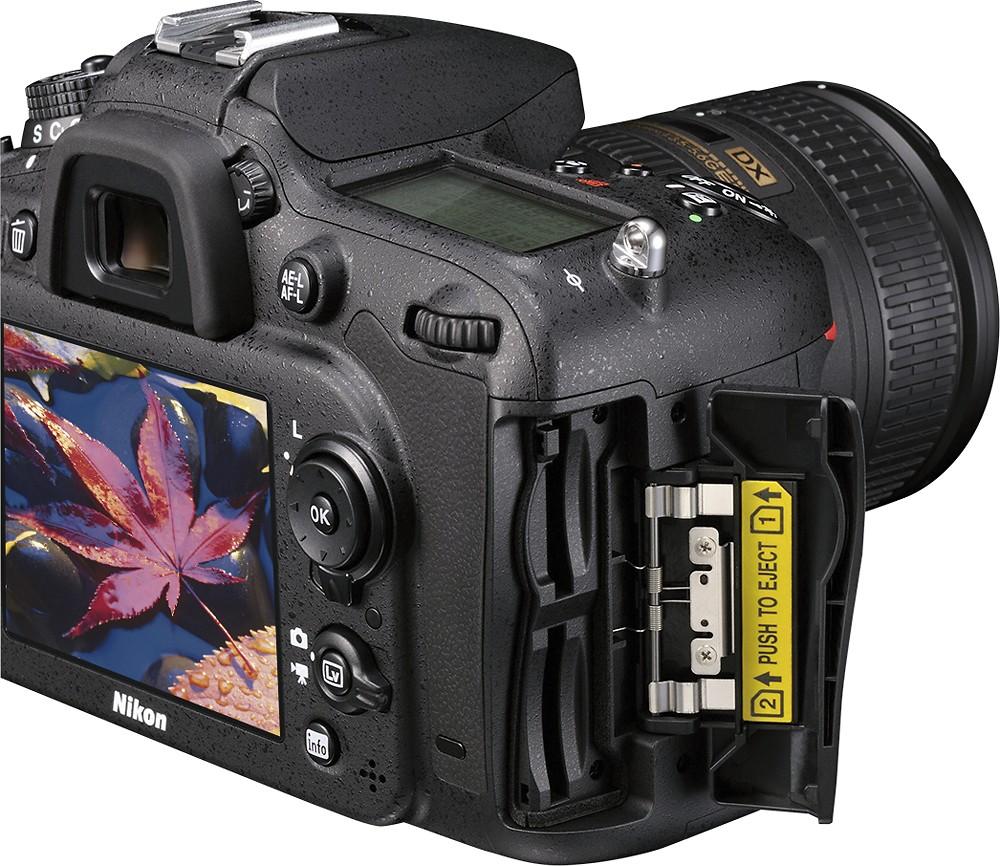 Câmera Nikon Coolpix D7100  + Lente 18-140 VR, Sensor CMOS DX, 24.1 Megapixels, Video FULL HD *