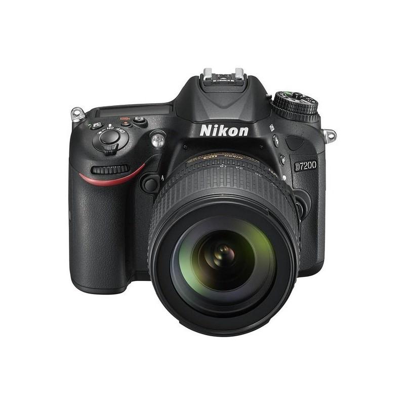 Câmera Nikon D7200 + Lente 18-105 VR , Sensor CMOS DX de 24.2 Megapixels, WIFI, GPS