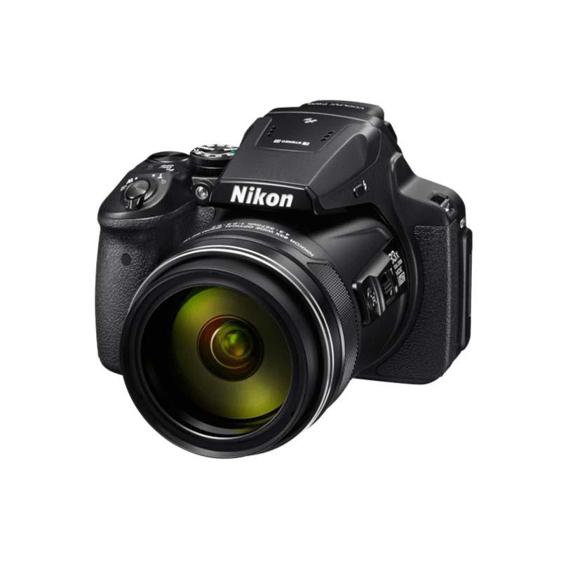 Câmera Nikon Coolpix P900 com Zoom Óptico 83x, Sensor CMOS de 16.1 Megapixels, WIFI, NFC, LCD de 3.0