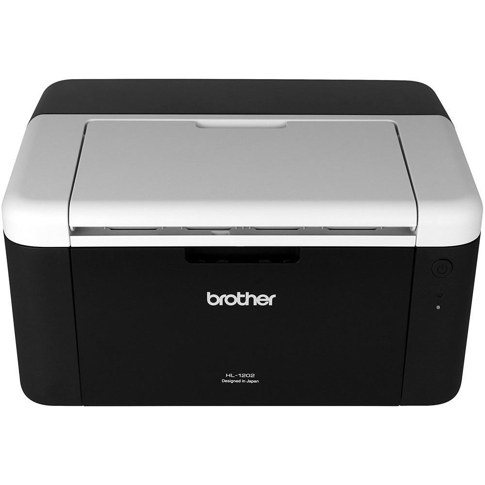 Impressora Laser Brother  HL1202 Monocromática *