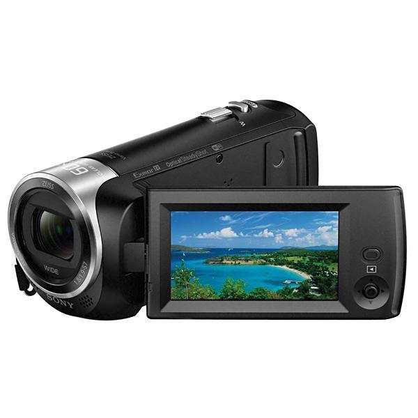 Filmadora Sony HandyCam HDRCX440 com Zoom Óptico de 30X, Sensor CMOS Exmor R  de 9.2MP, 8GB, Wi-FI com NFC e Processor de imagem BIONZ X, Full HD