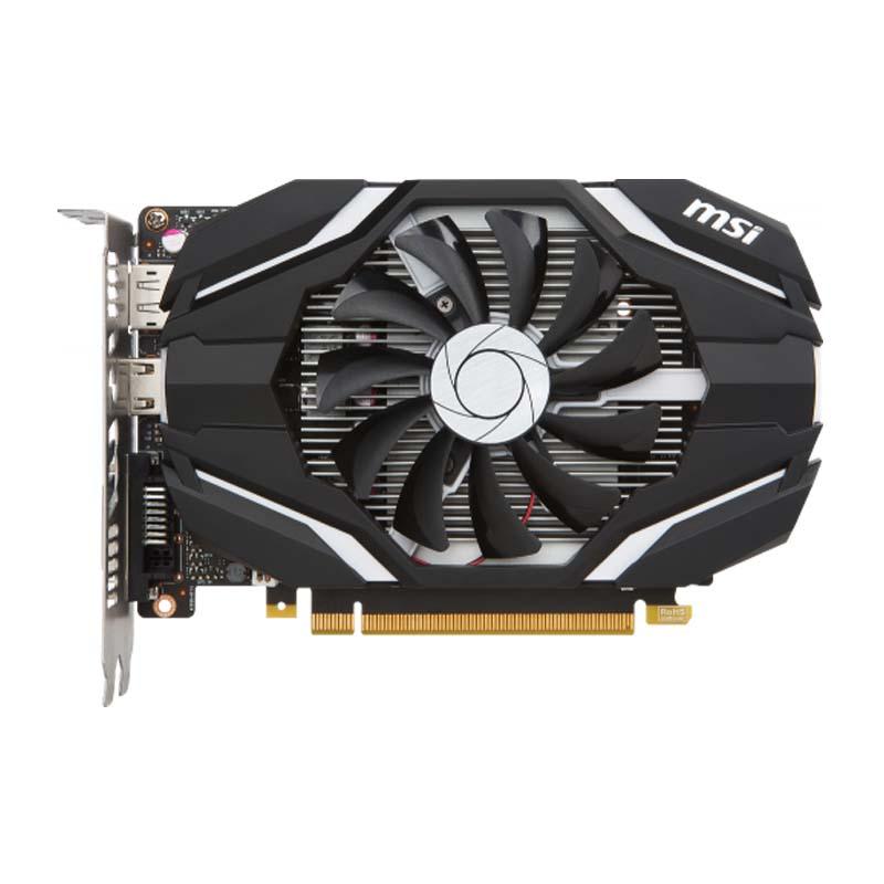 PLACA DE VIDEO MSI GEFORCE GTX 1050, 2GB de Memória e DDR5 de 128 bits, NVIDIA Pascal 1518mHZ ,  HDMI, DP