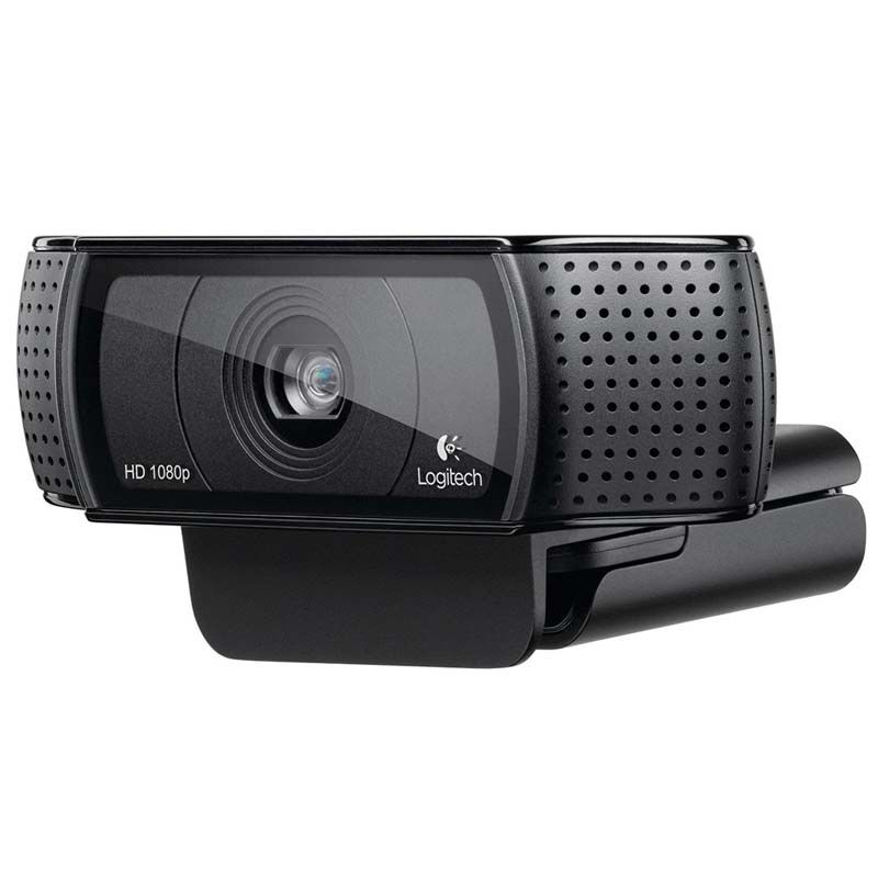 Webcam Logitech C920 Full HD 1080p, 15MP, Microfones duplos