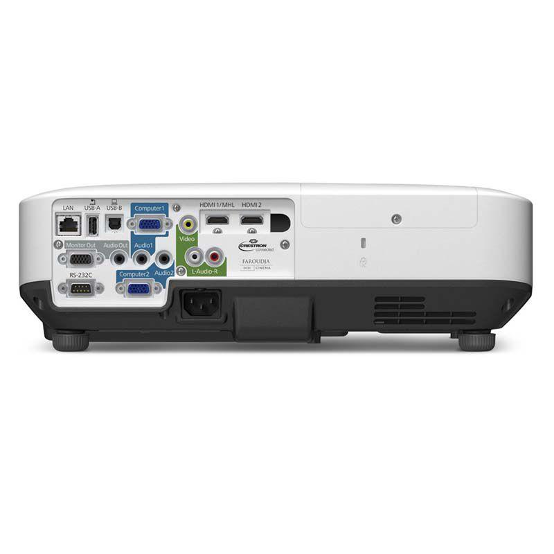 Projetor Epson 1970W, 3LCD, Lumens 5000, Contraste de 10.000, HDMI *