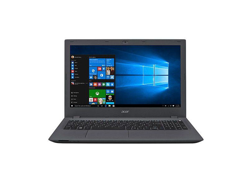 "Notebook Acer com Intel Core i5 de 6ª Geração, 8GB de Memória, HD de 1TB, Placa de vídeo NVIDIA GeForce  2GB, Tela Full HD de 15.6"", Windows 10 - E5-574G"