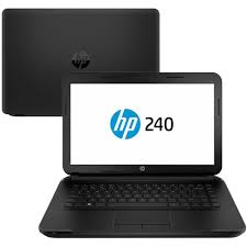 "Notebook HP 240 Intel Core i3 5º Geração, Memória de 4GB, HD de 500GB, Tela LED de 14"" e Windows 10"
