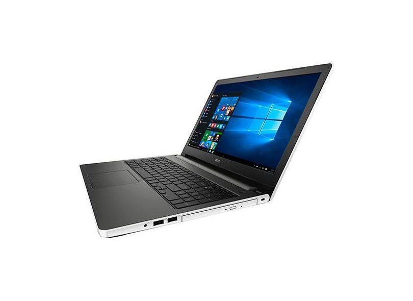 """Notebook Dell Inspiron - Intel® Core i5, 4GB de memória, 1TB de HD, Gravador de DVD, HDMI, Bluetooth, Tela HD de 15.6"""" Windows 10 -  i15-5558  (showroom)"""