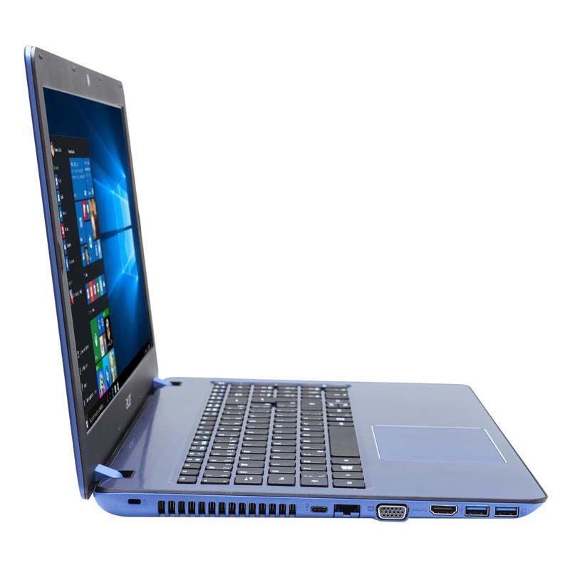 """Notebook Acer Aspire F5-573G - Intel Core i7 de 7ª Geração, 8GB de Memória, HD de 1TB, Placa de Vídeo GeForce 4GB, Gravador de DVD, LED 15,6"""", Windows 10 (seminovo)"""