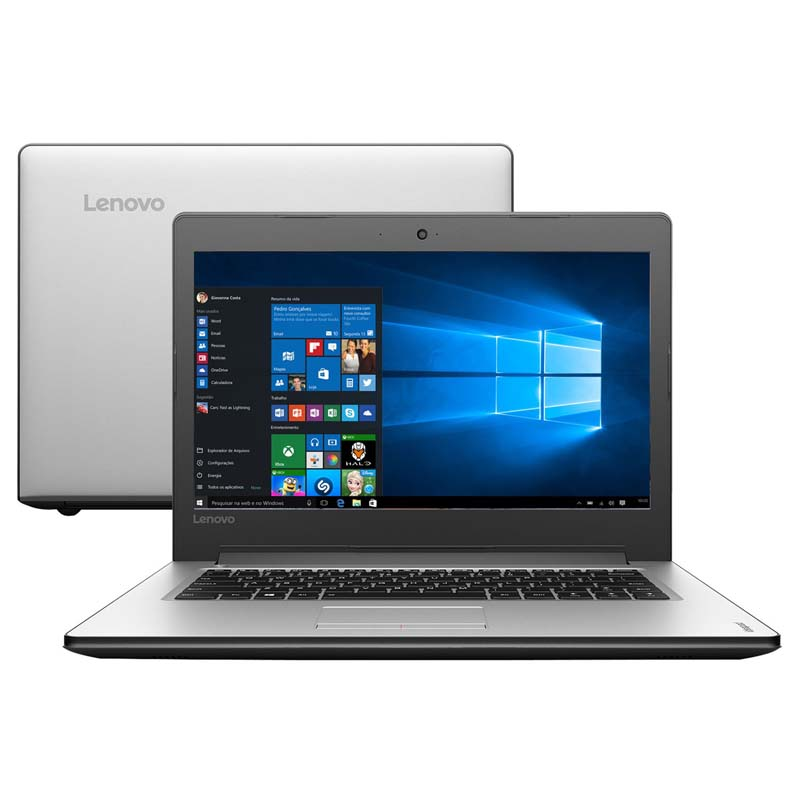Notebook Lenovo Ideapad 310, com Intel Core i7 de 6ª Geração, 8GB de Memória, HD de 1TB, Placa de vídeo GeForce de 2GB, Tela de 15,6