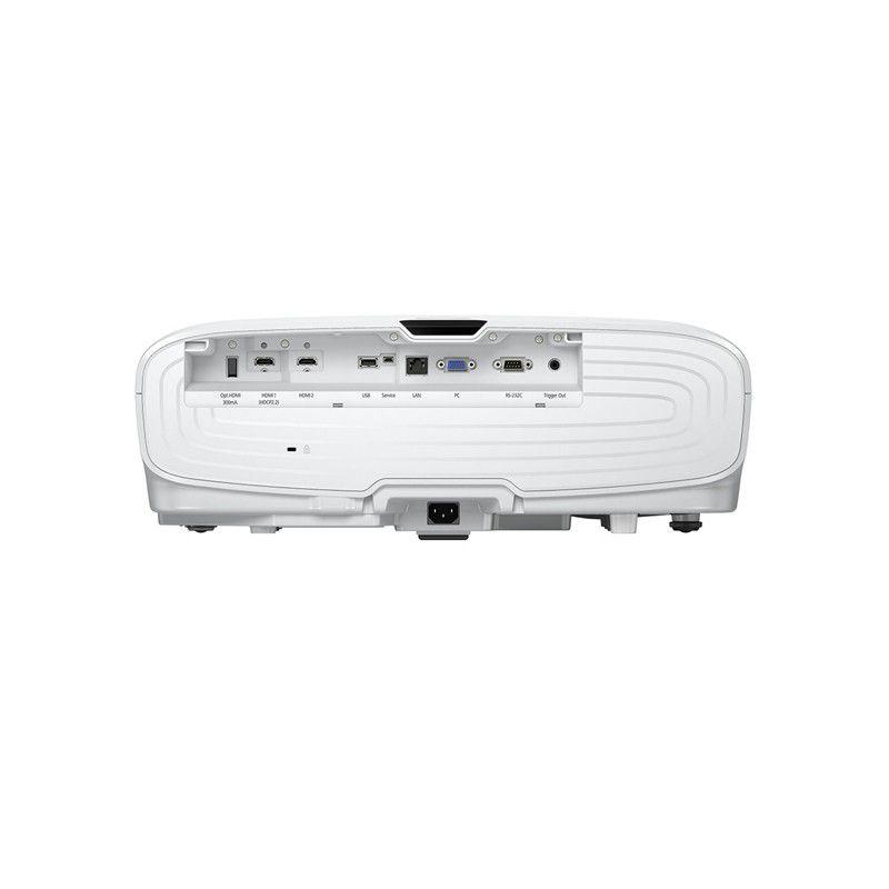 Projetor Epson Home Cinema  5040UB, Full HD 3D, 2500 Lúmens, Tecnologia 3LCDs, HDMI, Trigger out, Zoom óptico, 4K, Contraste de 1.000.000:1