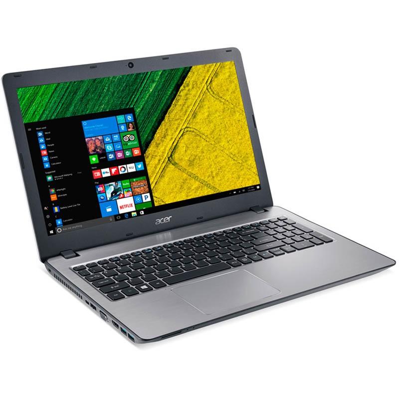 Notebook Acer Aspire F5-573G, com Intel Core i7, 7ªGeração, 8GB de Memória, HD de 1TB, Placa de Vídeo GeForce 940MX de 4GB, Gravador de CD/DVD, Tela 15.6 - F5-573G 75A3
