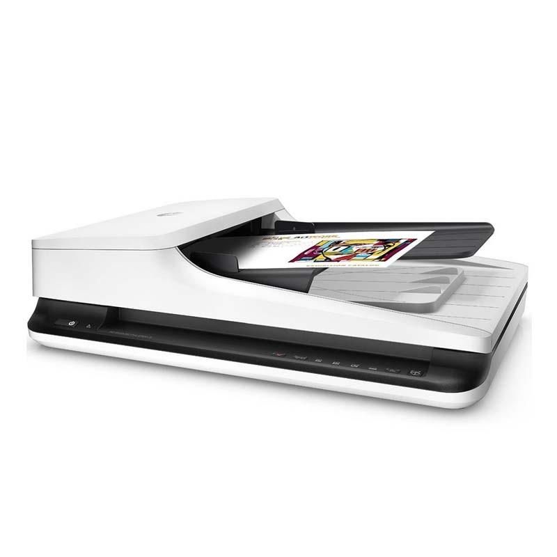 Scanner HP Scanjet PRO, Ótica de 600dpi, USB 2.0, 1500 pág. diário – FLATBED BIVOLT - Pro 2500 F1