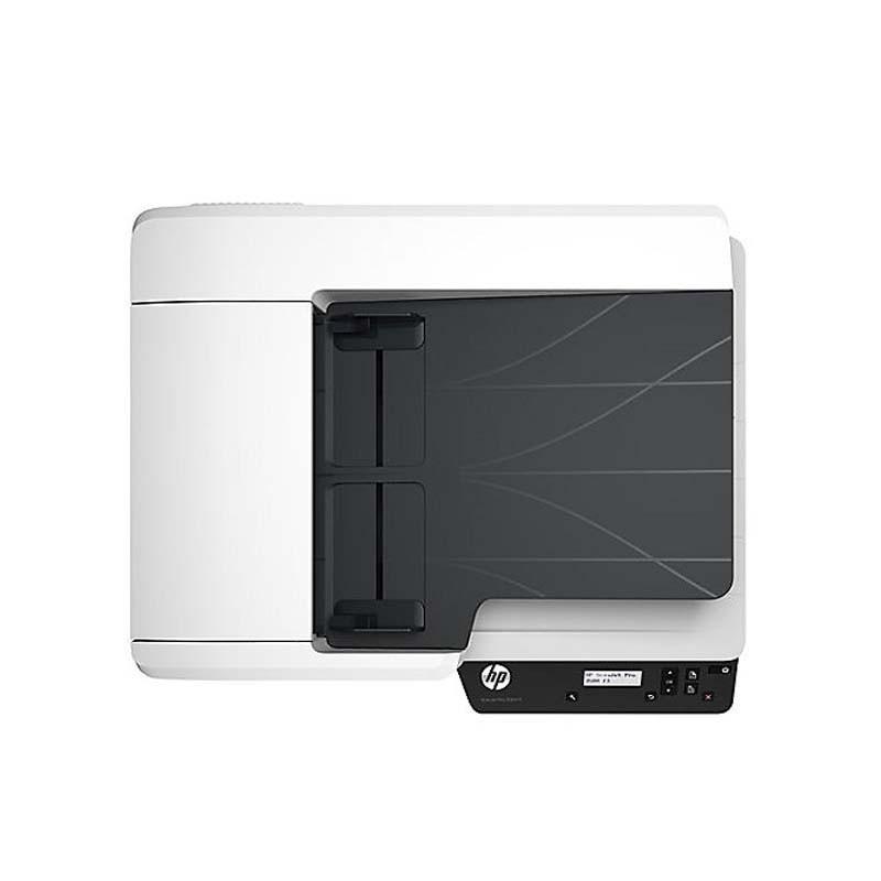 Scanner HP Scanjet PRO, Ótica de 600dpi, USB 2.0 e USB 3.0, Wireless, 4000 pág. diário – FLATBED - Pro 4500 FN1
