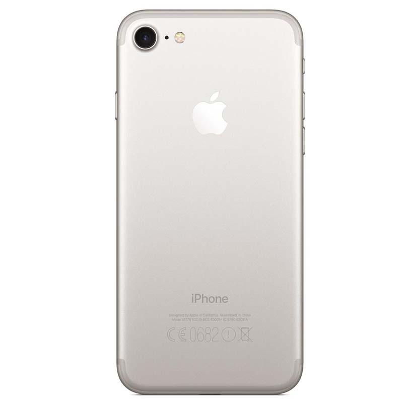 """Apple iPhone 7 - 128GB, 3D Touch, Sensor Touch ID, Câmera iSight de 12MP, Gravação de Vídeo 4k, Tela Retina HD de 4,7"""", Resistente a água, Chip A10 – SILVER/PRATEADO"""