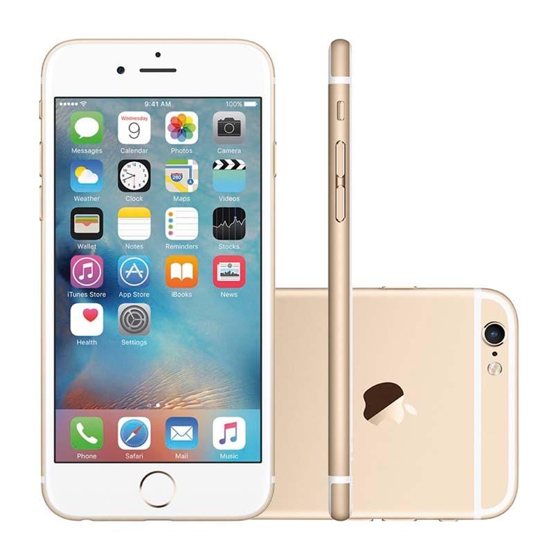"""Apple iPhone 7 - 128GB, Sensor Touch ID, Câmera iSight de 12MP, Gravação de Vídeo 4k, Tela Retina HD de 4,7"""", Resistente a água, Chip A10 – GOLD/DOURADO"""