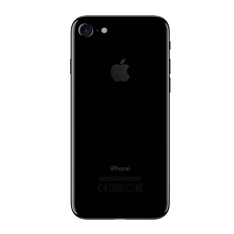 """Apple iPhone 7 - 128GB, Sensor Touch ID, Câmera iSight de 12MP, Gravação de Vídeo 4k, Tela Retina HD de 4,7"""", Resistente a água, Wifi, 4G LTE e NFC, Chip A10 – JETBLACK/PRETOBRILHANTE"""