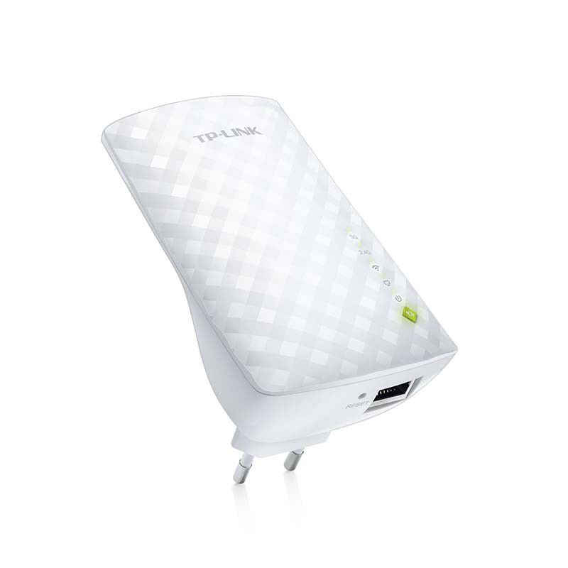 Extensor de Alcance Wireless TP-Link RE200 – Dual Band, AC750, 2.4GHz e 5GHz até 433 Mbps