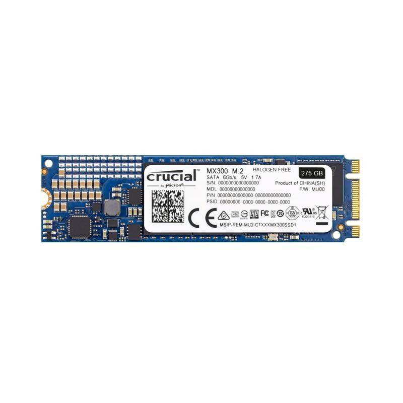 SSD M.2 Crucial MX300, 275Gb, M.2 2280, SATA 6Gb/s - CT275MX300SSD4