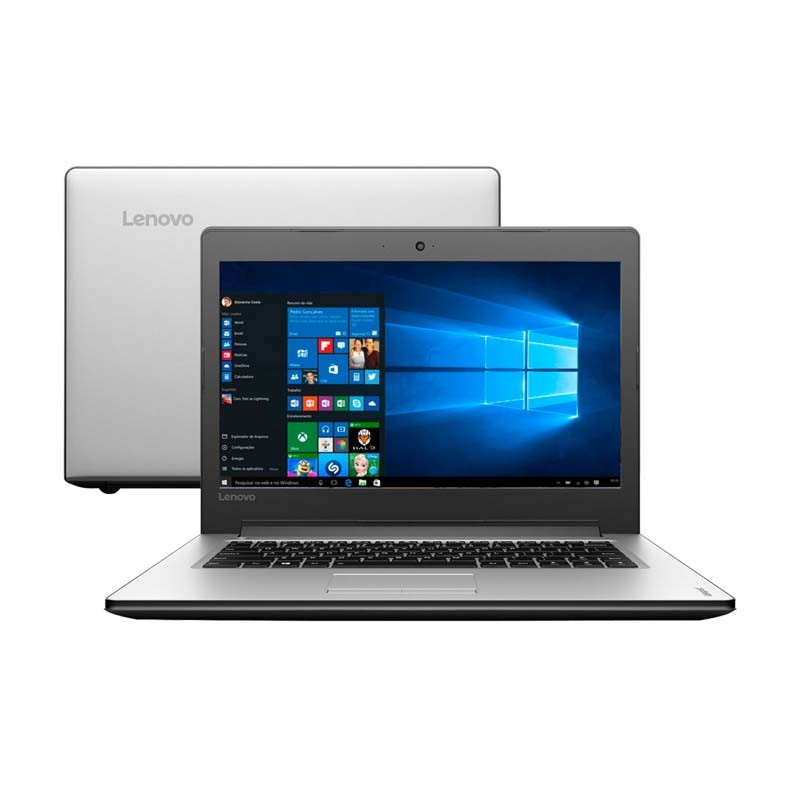 Notebook Lenovo Ideapad 310, com Intel Core i5 de 6ª Geração, 4GB de Memória, HD de 1TB, Placa de vídeo GeForce de 2GB, Wireless AC, Tela de 15,6