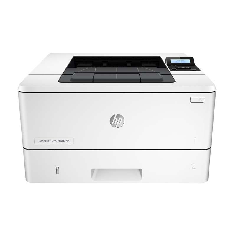 Impressora HP LASERJET M402DN, Velocidade 40ppm, Resolução 600pdi, Monocromática, Ethernet , USB - 110V