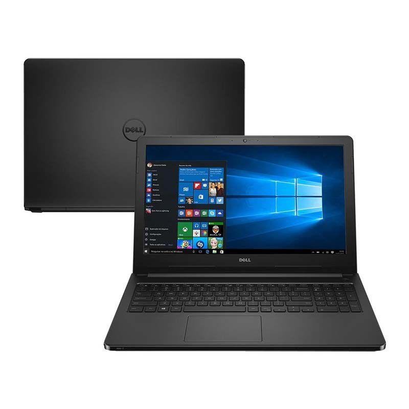 """Notebook DELL  Inspiron 15-5566-A10, Intel Core i3, 6ªGeração, 4GB de Memória, HD de 1TB, HDMI, Tela 15.6"""", Windows 10 - 15-5566-A10"""