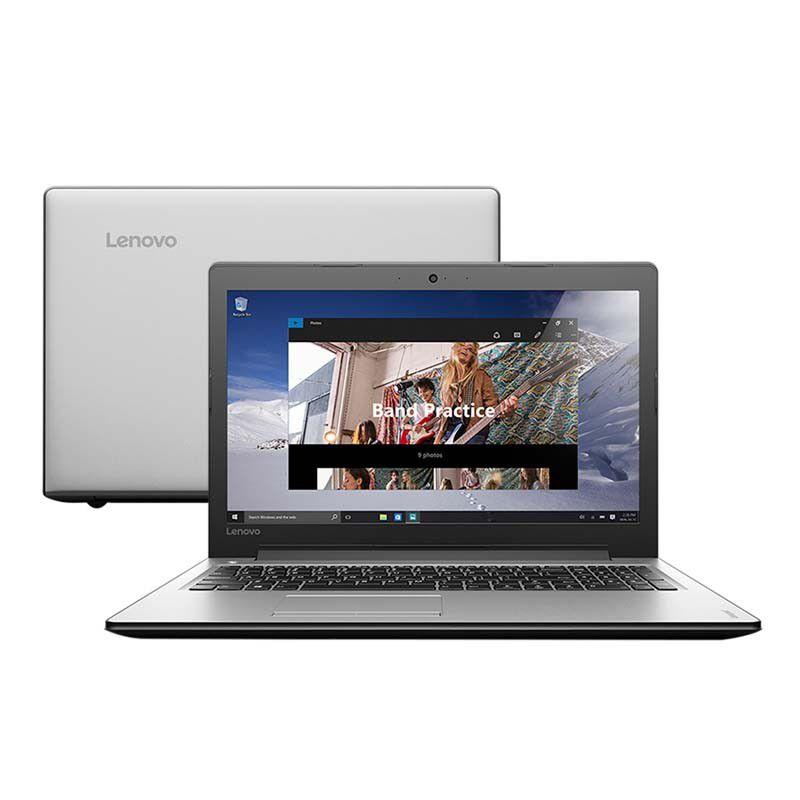 """Notebook Lenovo IDEAPAD 310, Intel Core i3 de 6ªGeração, 4GB de Memória, HD de 1TB, Tela 15.6"""", Windows 10 (SHOWROOM)"""