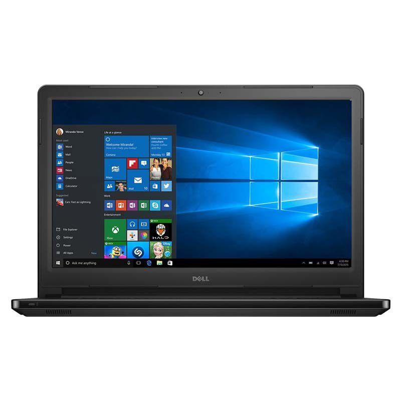 """Notebook DELL 15566-3000BLK, Intel Core i3, 7ªGeração, 6GB de Memória, HD de 1TB, Gravador de DVD, HDMI, Tela 15.6"""" Touchscreen, Windows 10 - 15566-3000BLK"""