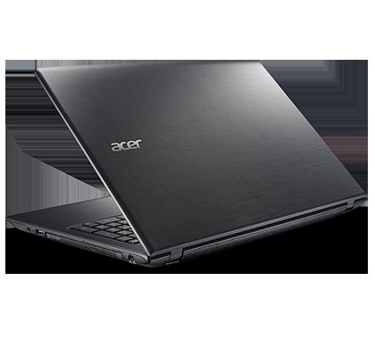 """Notebook Acer Aspire E5-575 - Intel Core i5 de 7ª Geração, 6GB de Memória, HD de 1TB, Wireless AC, Teclado numérico, Tela 15.6"""", Windows 10  ALUMINIUM BLACK- E5-575-5157"""