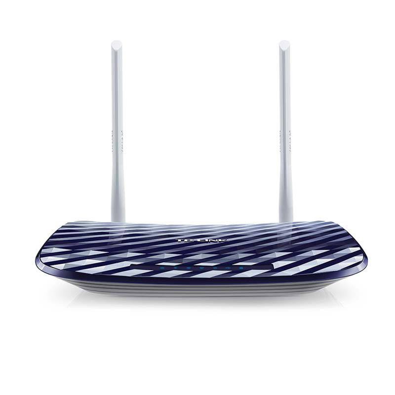 Roteador Wireless TP-Link Archer C20 AC750 – Dual Band, 2.4GHz, 300Mbps, 3 Antenas, 4 Portas Ethernet - C20 AC750