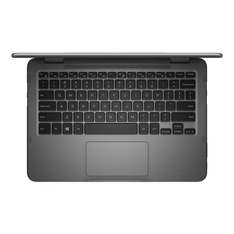 """Notebook DELL 2 em 1, Quad Core, 4GB de Memória, HD de 500Gb, Leitor de Cartão SD, Bluetooth, Tela 11.6"""" Touchscreen, Windows 10 - 11-3168-A10 (showroom)"""