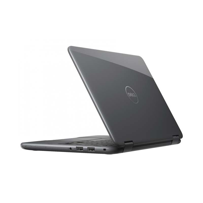 "Notebook DELL 2 em 1, Quad Core, 4GB de Memória, HD de 500Gb, Leitor de Cartão SD, Bluetooth, Tela 11.6"" Touchscreen, Windows 10 - 11-3168-A10 (showroom)"