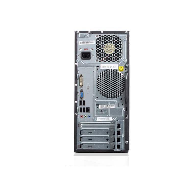 Computador Lenovo 63 Intel Core I3, 4GB de Memória, HD de 500GB, DVD-RW + Teclado e Mouse (Windows 10 PRO)