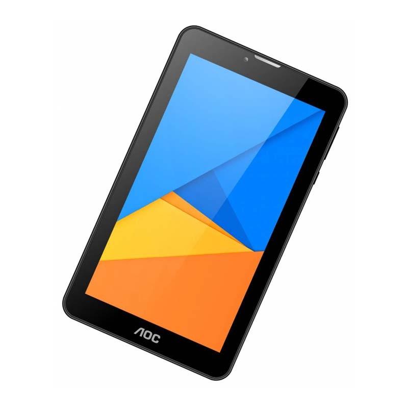 Tablet AOC A724G, Quad Core 1.2GHz, 8GB de Memória, Android 5.1,  Wifi, Bluetooth, 3G, 2.0Mp,Tela de 7