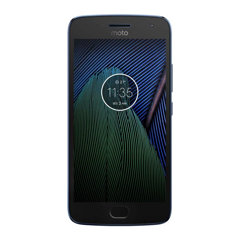 Smartphone Motorola Moto G5 Plus de 32GB, Câmera 12MP com Flash LED, Octa Core, TV integrada, Tela Full HD 5.2