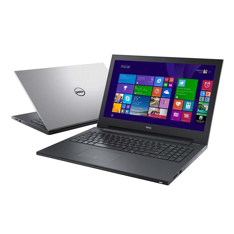 Notebook Dell Inspiron I15 3543, Intel Core i5 de 5ª Geração, 4GB de Memória, HD de 1TB, Leitor de DVD, HDMI, Tela LED de 15.6, Windows 8.1 - i15 3543