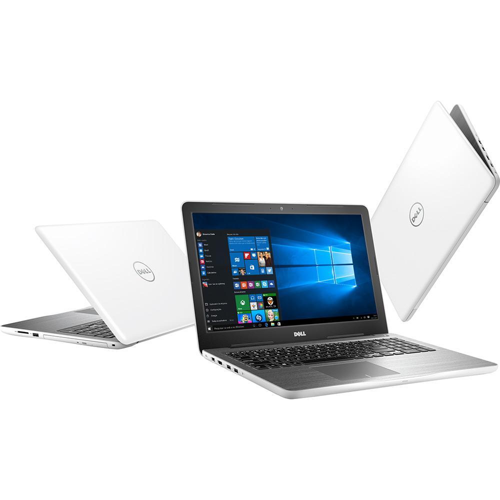 """Notebook Dell Inspiron 5000, Intel Core i7 de 7ª Geração, 8GB de Memória, Placa de vídeo RADEON de 4GB, HD de 1TB, Tela LED de 15.6"""" - Inspiron 15 5567-D40"""