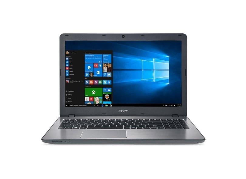 Notebook Acer Aspire F5-573-59tv ALUMINIUM - Intel Core i5,  8GB de memória, HD de 1TB, HDMI, USB 3.1 C, Gravador de CD/DVD, Tela 15,6