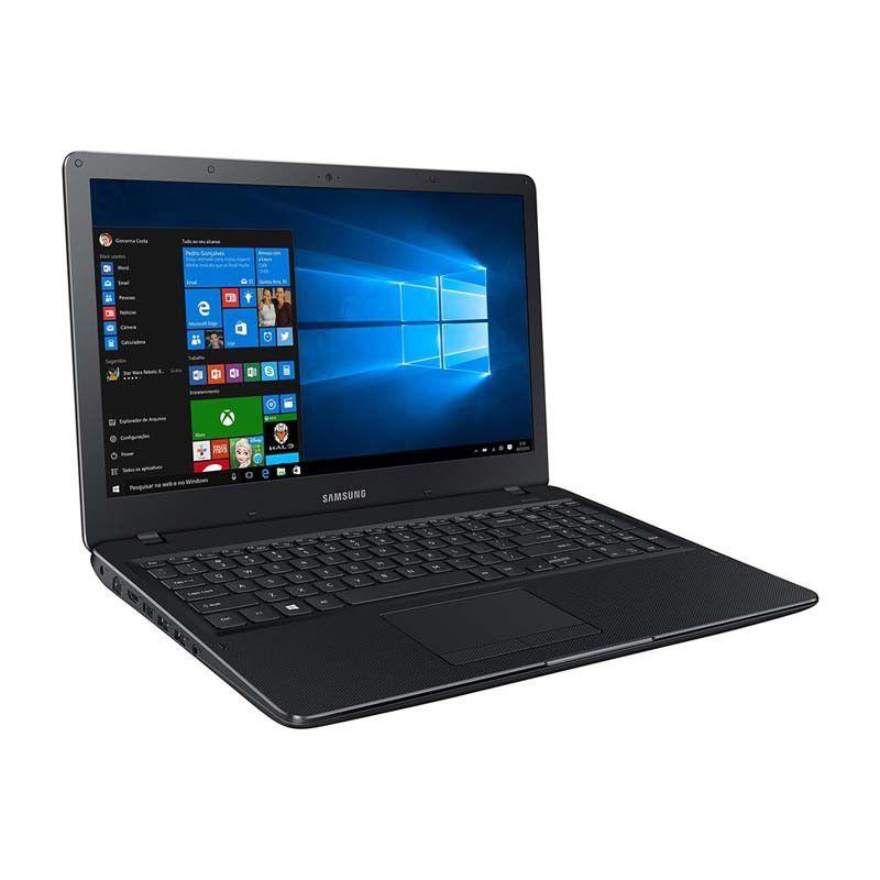 "Notebook Samsung E21, Intel Dual Core, 4Gb de Memória, HD de 500Gb, Tela FULL HD de 15.6"" - Windows 10 - NP300E5KKFABR"