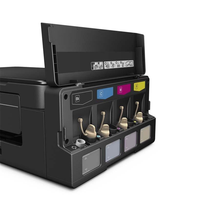 Impressora Multifuncional Ecotank Epson, Tanque de Tinta, USB, Wireless – L495