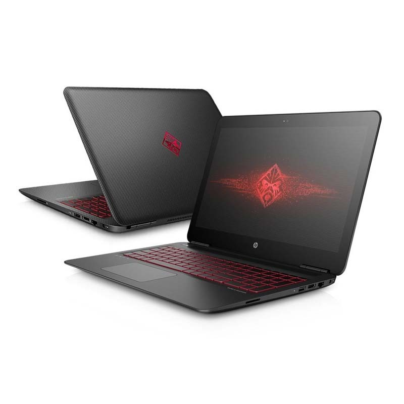 "Notebook HP Gamer Omen, Intel core I7- 7700HQ, 16GB de Memória, HD de 2 TB, Placa de Vídeo GeForce GTX1050 4GB, USB 3.0, Tela 15,6"" FHD IPS UWVA, Windows 10 - 15T-AX200"